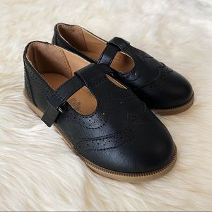 Faux-Leather Mary-Jane Flats for Toddler Girls